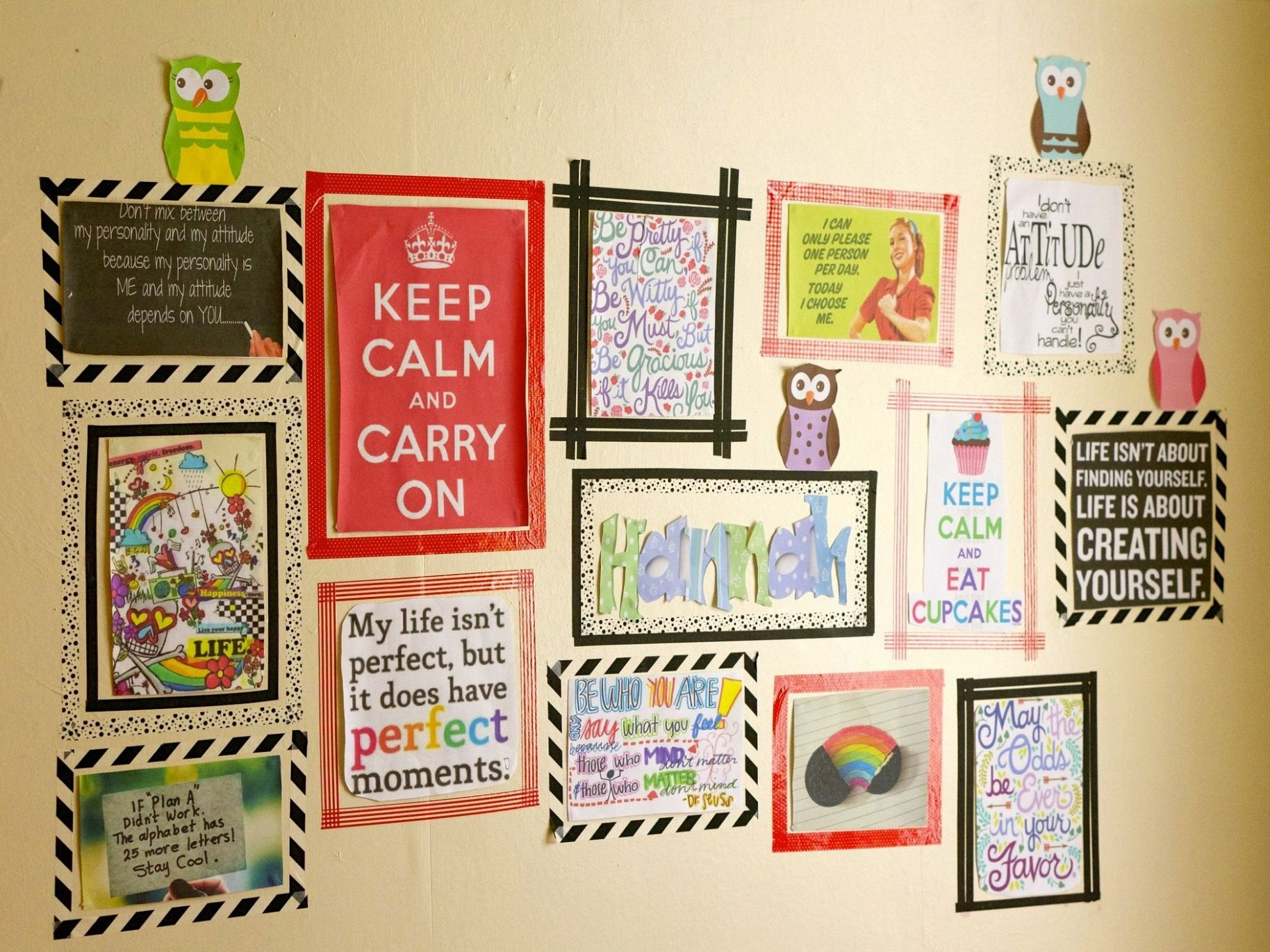 Wall Decor Ideas: No Nails Required   Tape wall art, Washi tape ..