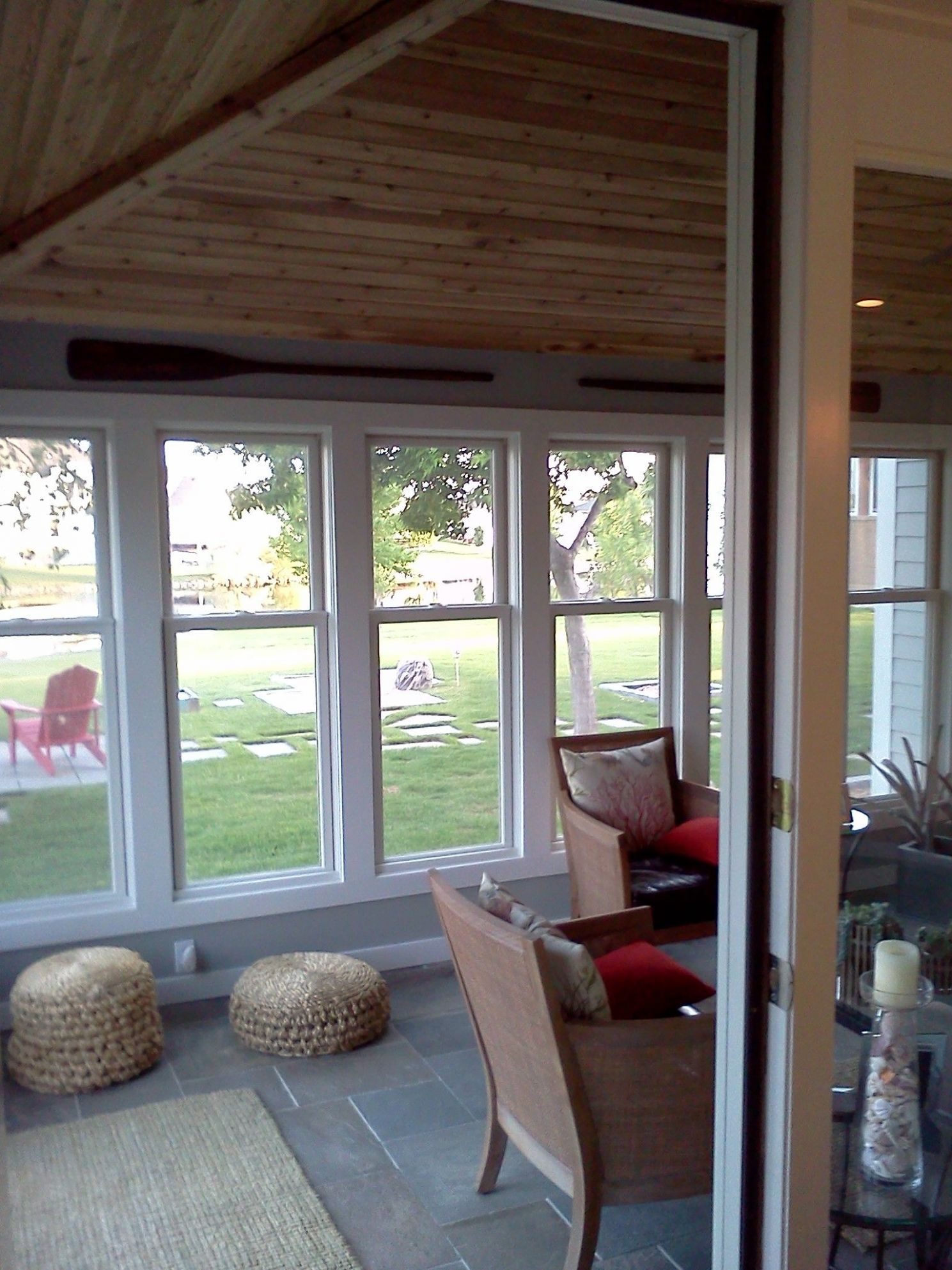 We added spray foam insulation to this sunroom | Home insulation ..