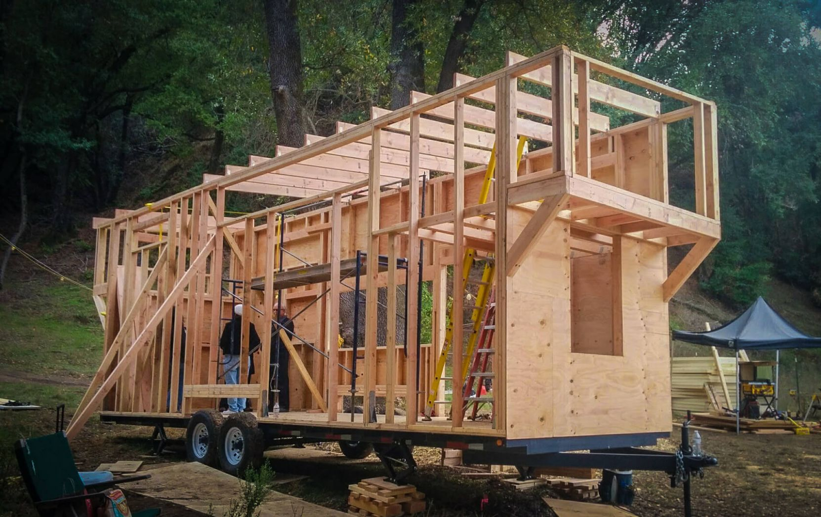 What is the first step in planning and building your own tiny ...