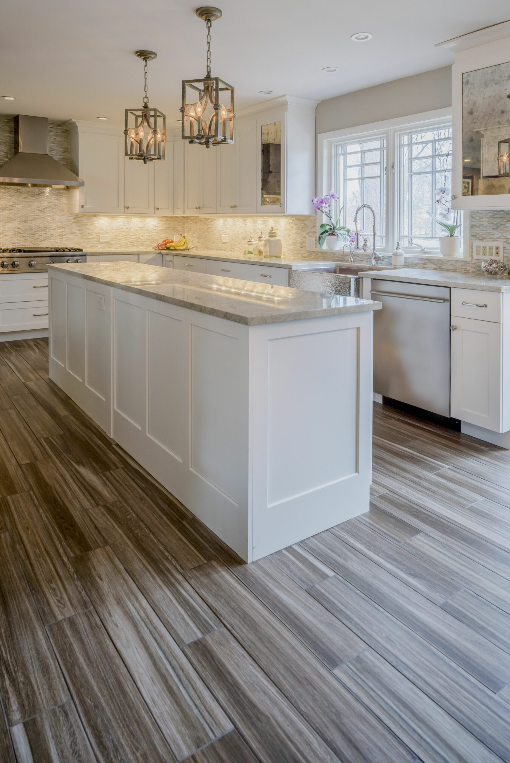 White Kitchen - Gain inspiration and view Lewis Floor & Home's ...