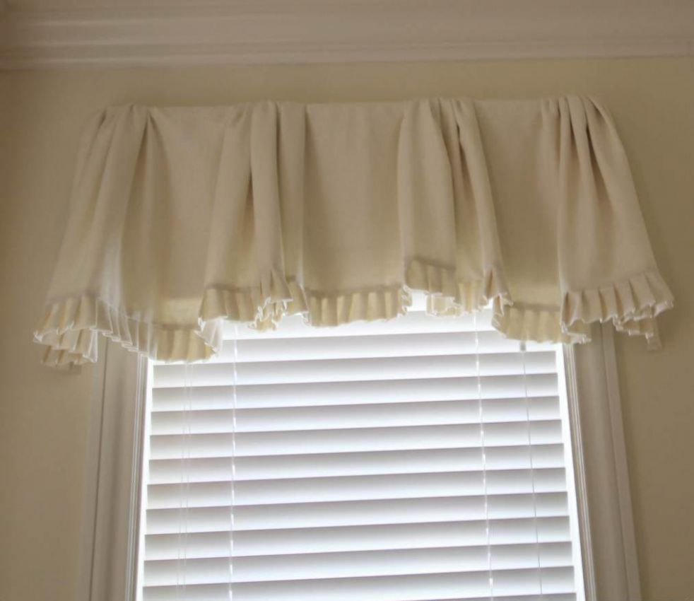 White Valances For Bedroom Windows | Window Treatments Design Ideas