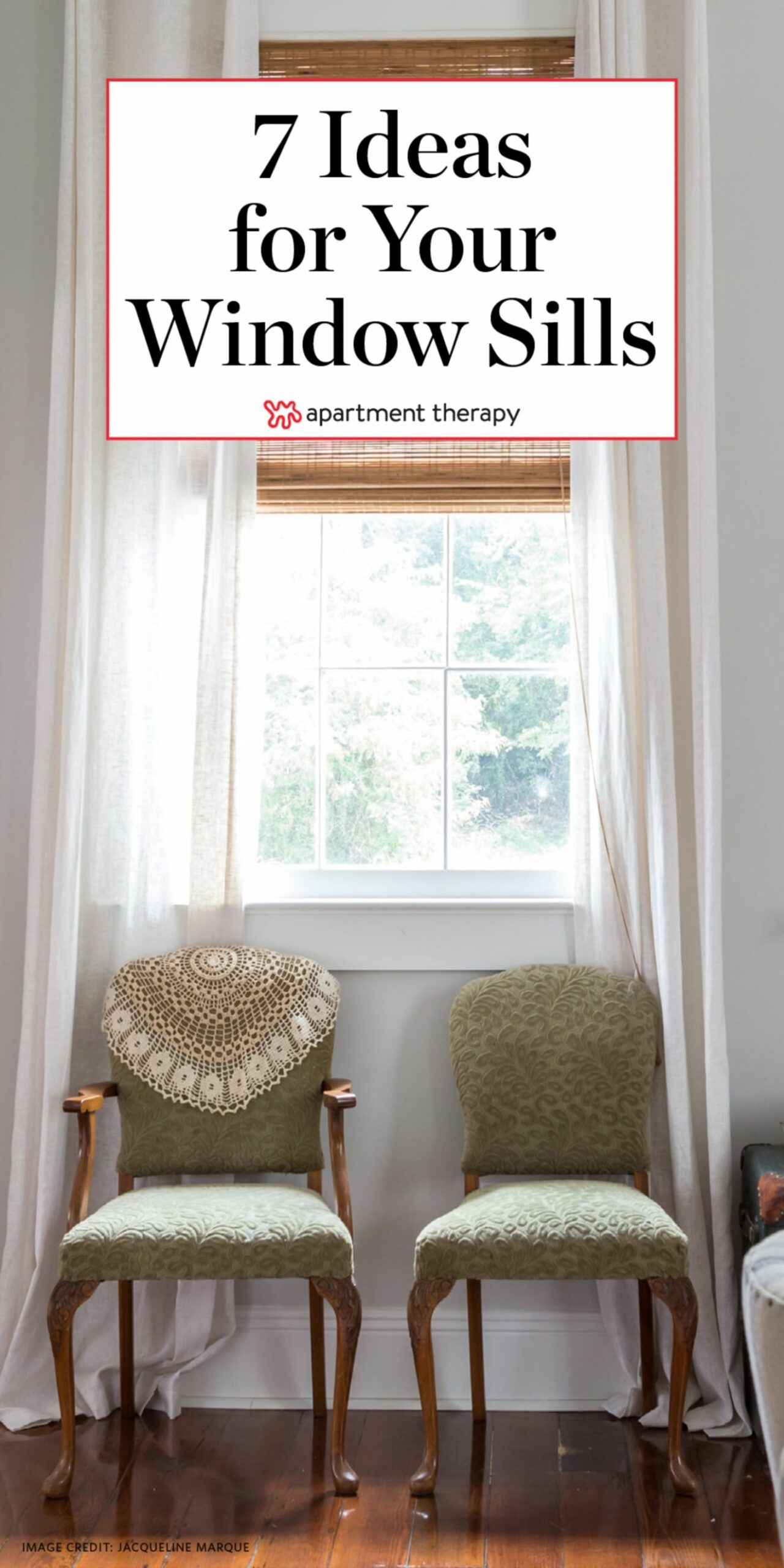 Window Sill Ideas | Apartment Therapy