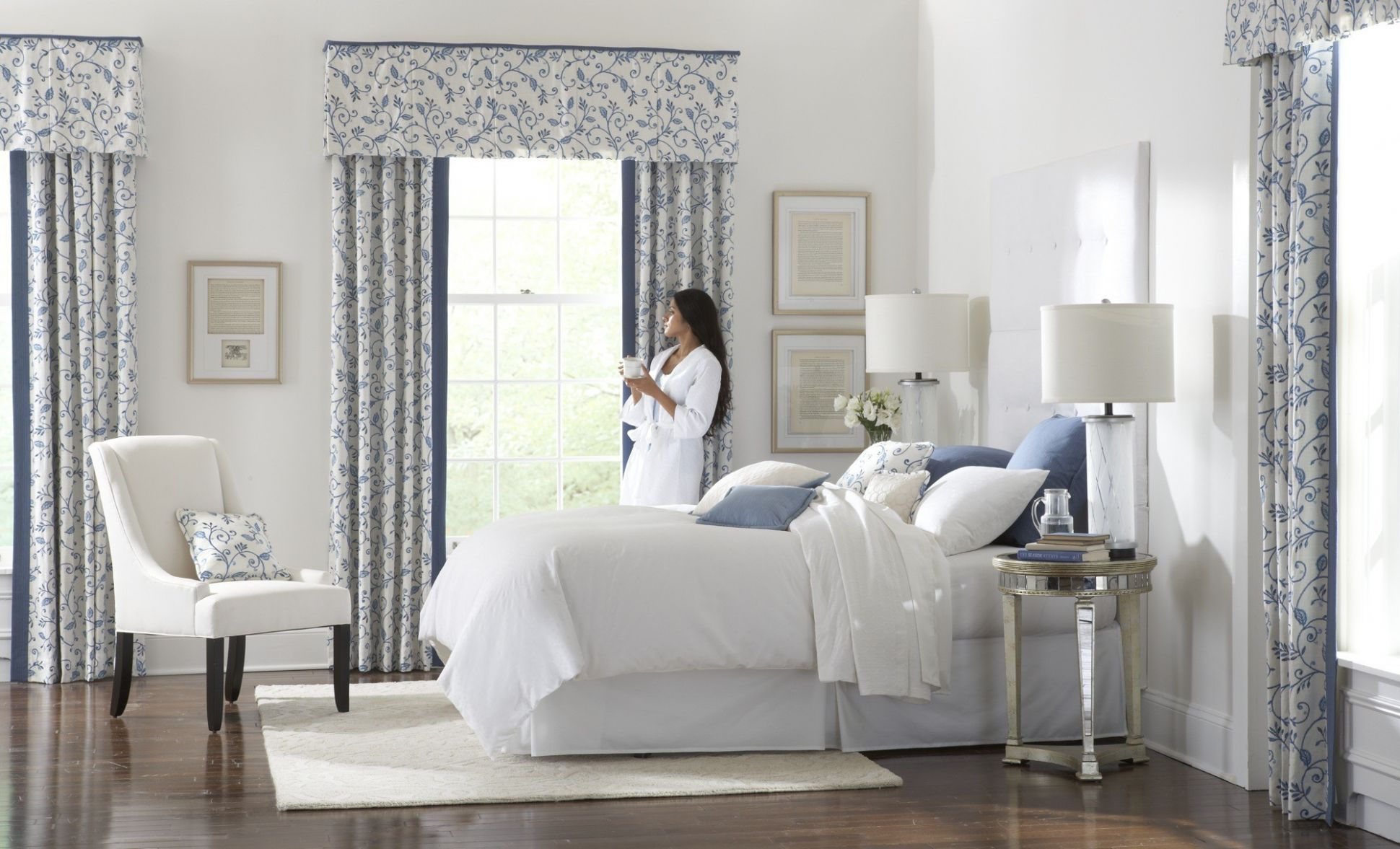 Window Treatment Ideas For Bedrooms How High To Hang The Bedroom ..