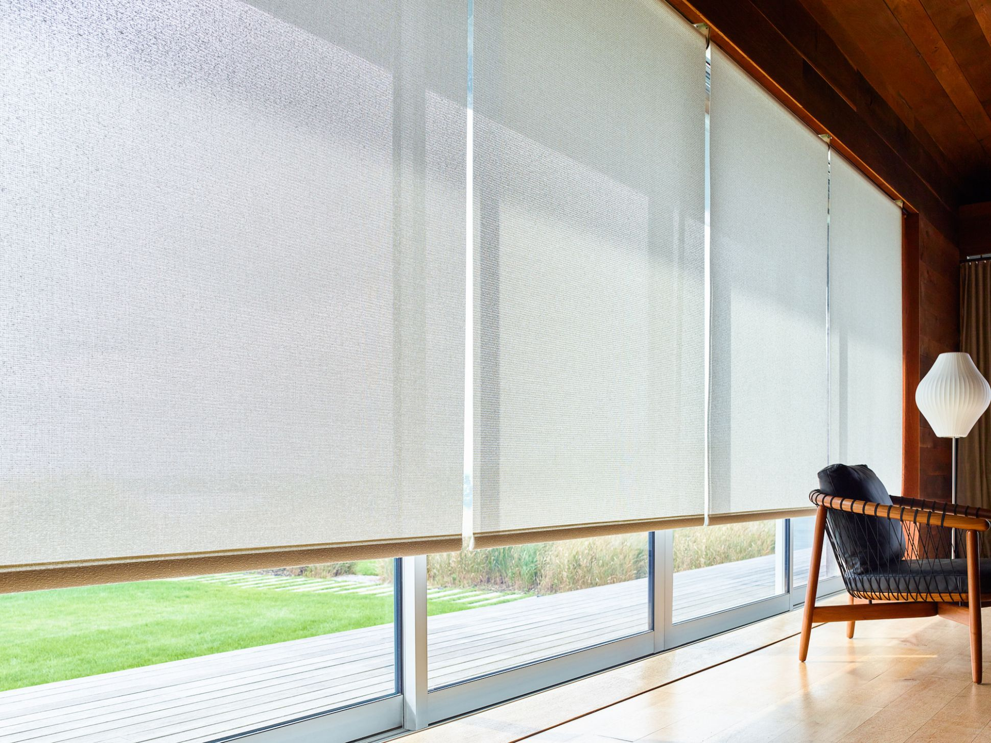Window Treatments for Sliding Glass & Patio Doors | The Shade Store - window covering ideas for sliding glass doors