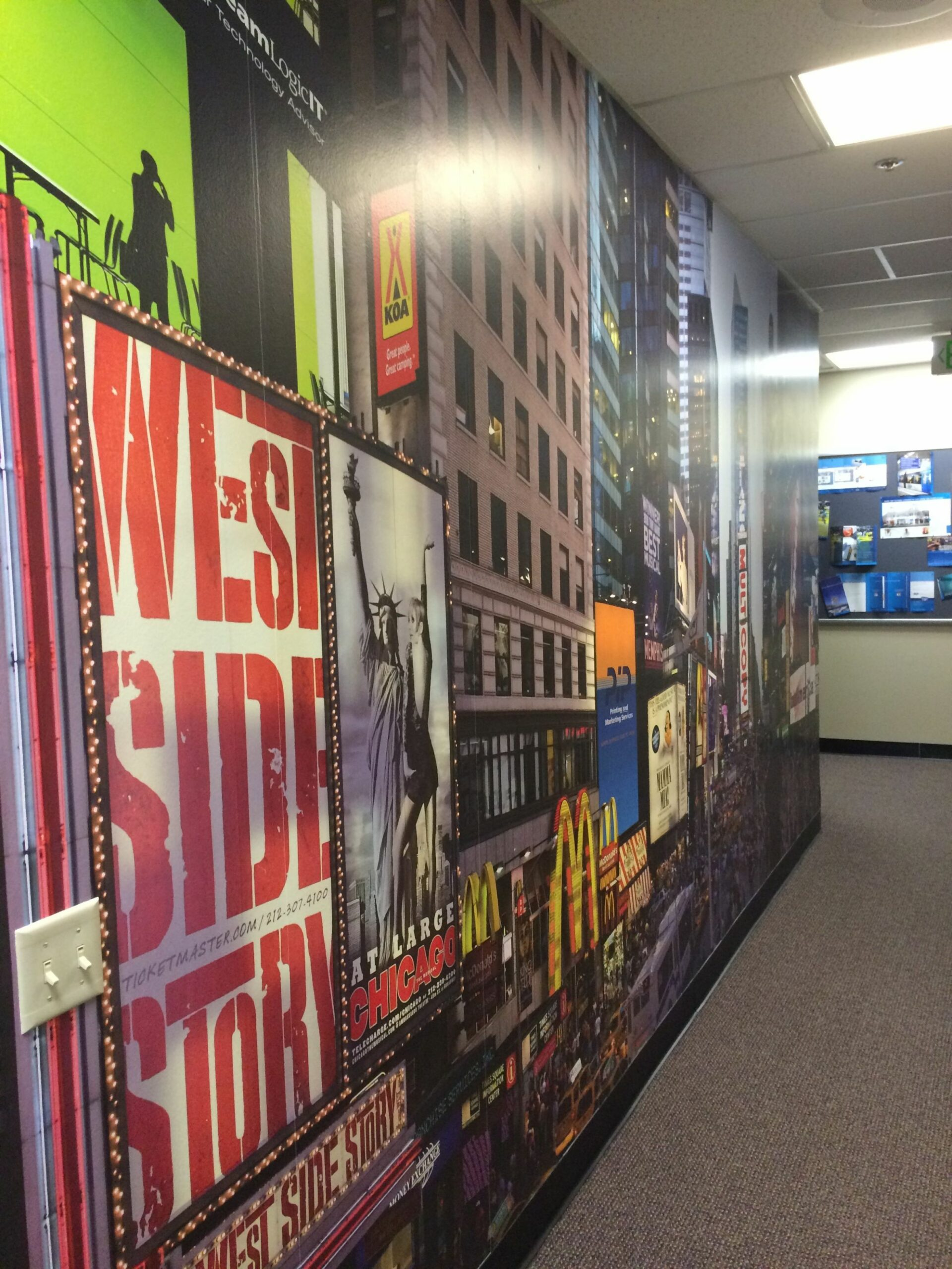Window Wall and Wrap Graphics | Window graphics, Custom murals ...