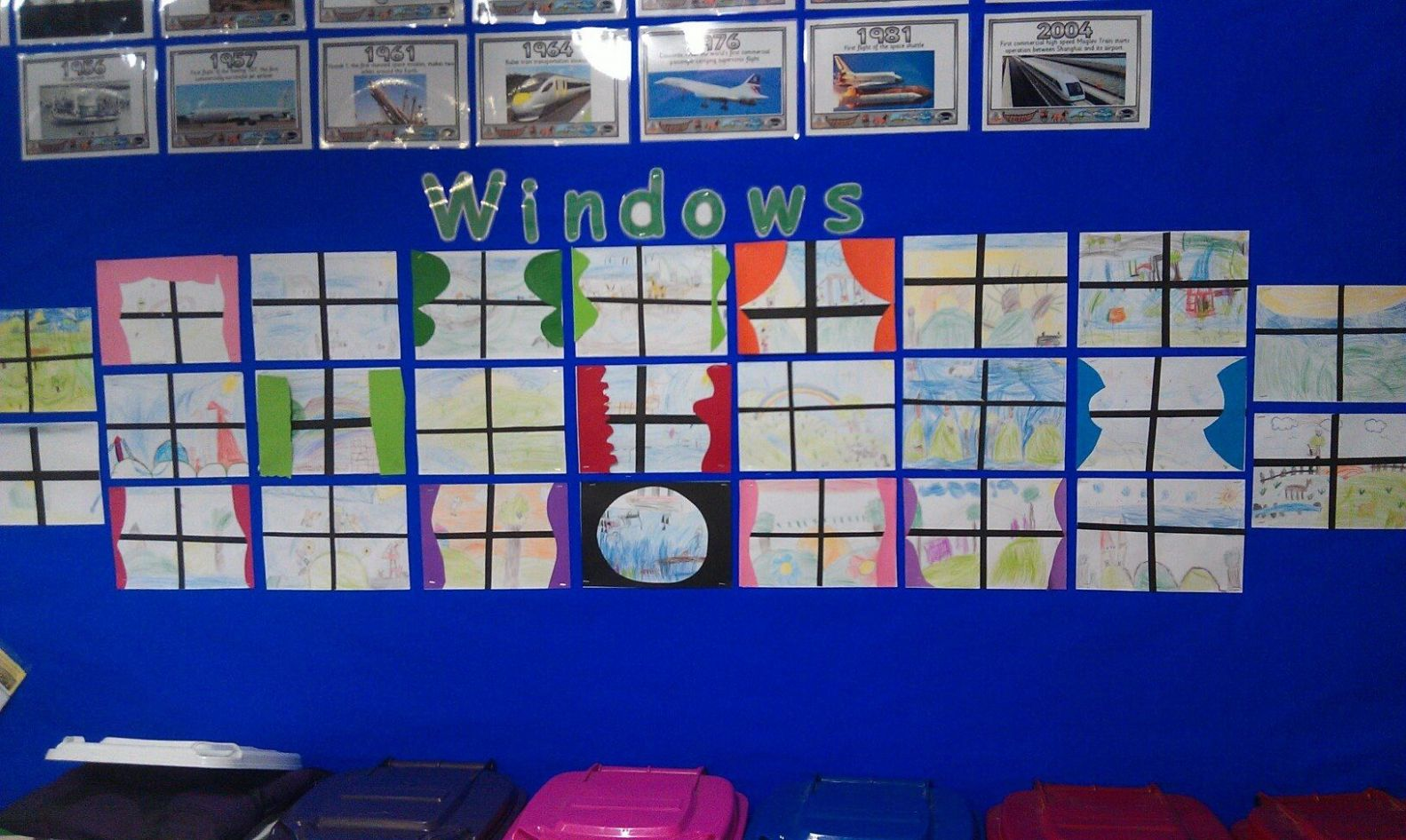 Windows art inspired by Jeannie Baker book Window | Homeschool art ..