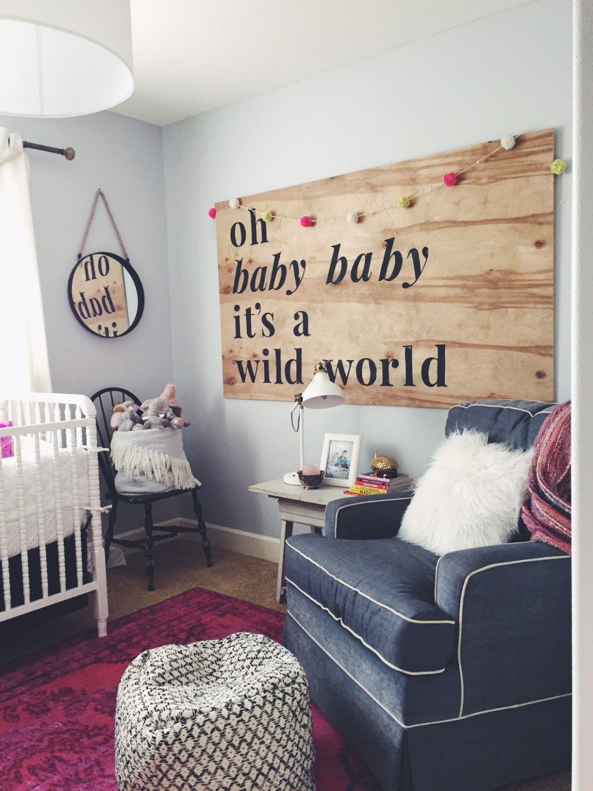 Winnie's Nursery | Baby room decor