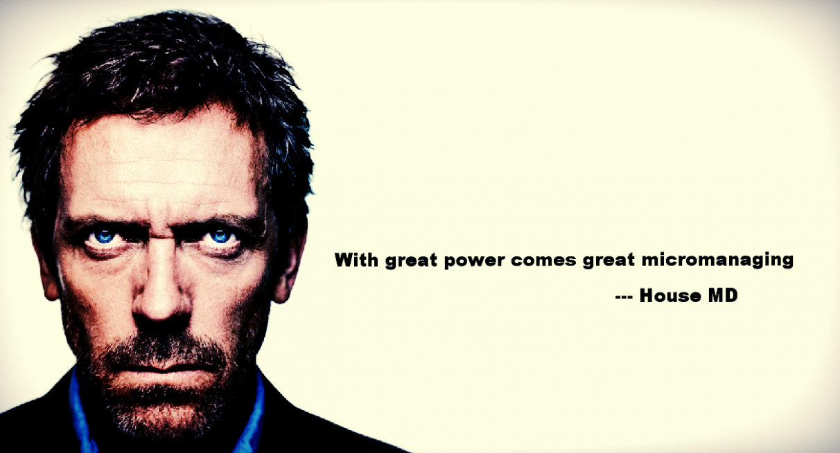 With great power..