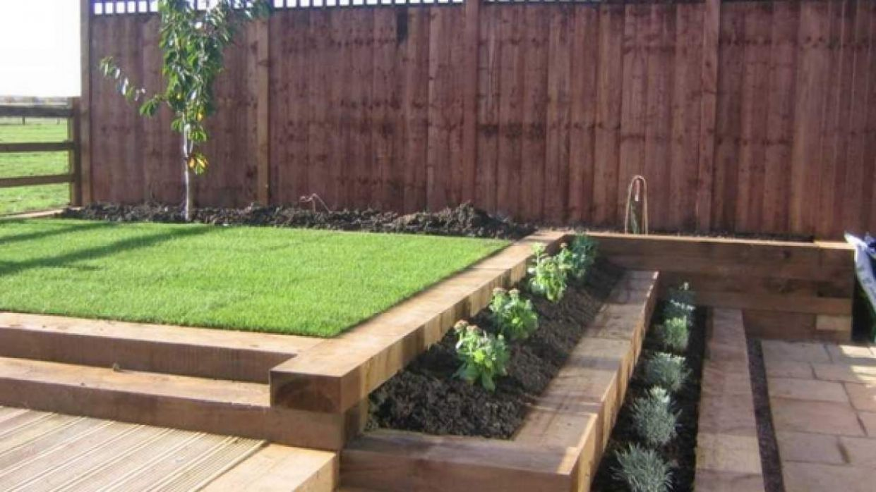 Wooden garden sleepers – Yes or no to railway sleepers in the ..