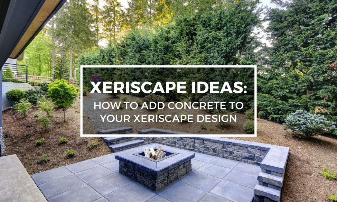 Xeriscape Ideas: How to Add Concrete to Your Xeriscape Design - small backyard xeriscape ideas