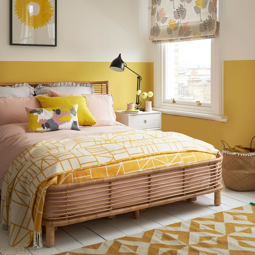 Yellow bedroom ideas for sunny mornings and sweet dreams - bedroom ideas and colours