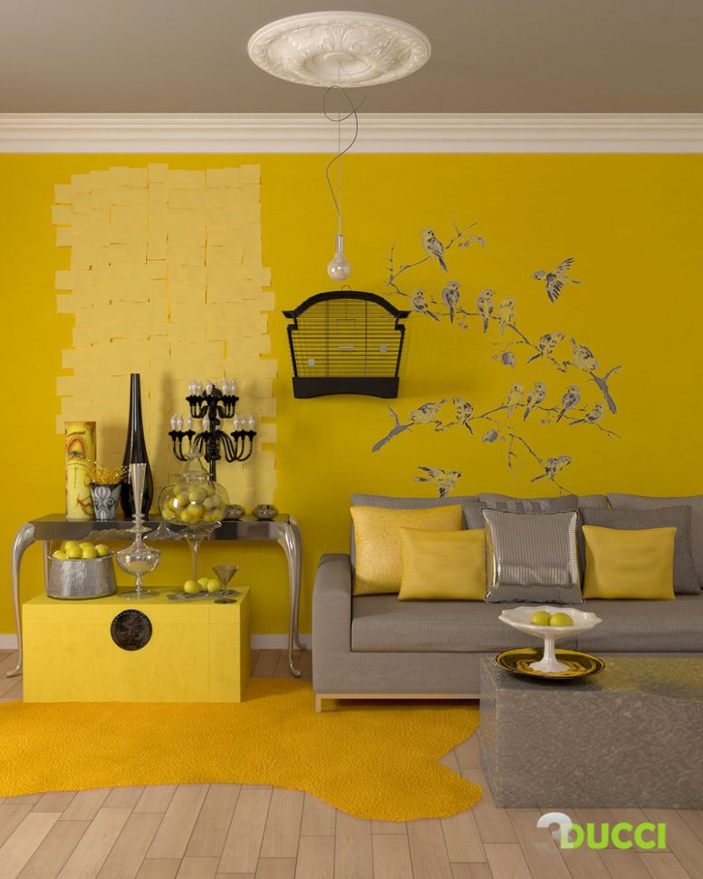 Yellow Room Interior Inspiration: 9+ Rooms For Your Viewing Pleasure - dining room ideas yellow