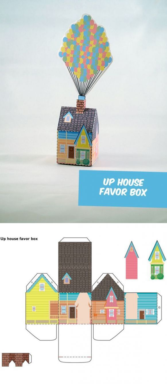 You Can Create Your Own Disneys House Box | Disney up house ...