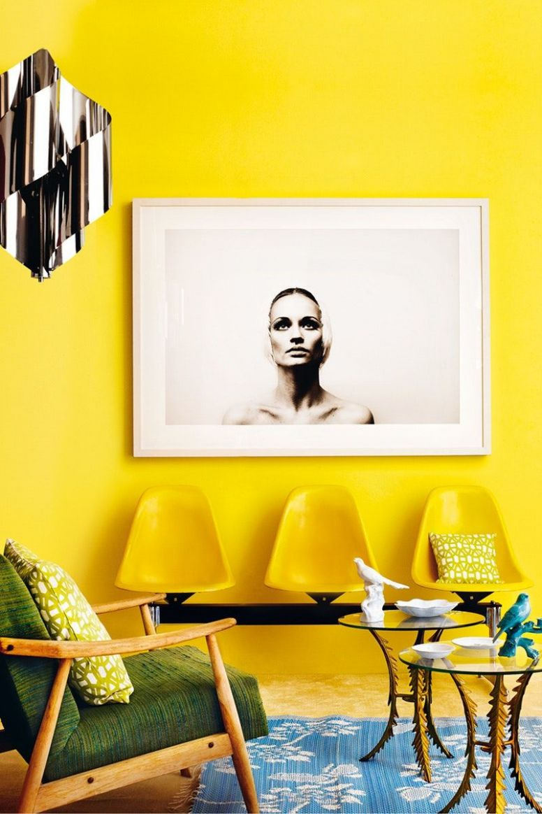 You're About to See This Color Everywhere   Yellow walls, Yellow ...