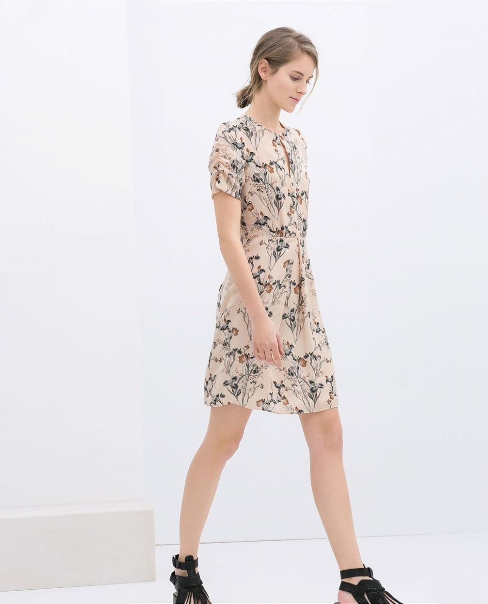 ZARA - NEW THIS WEEK - PRINTED DRESS | Clothes Before Hoes ..