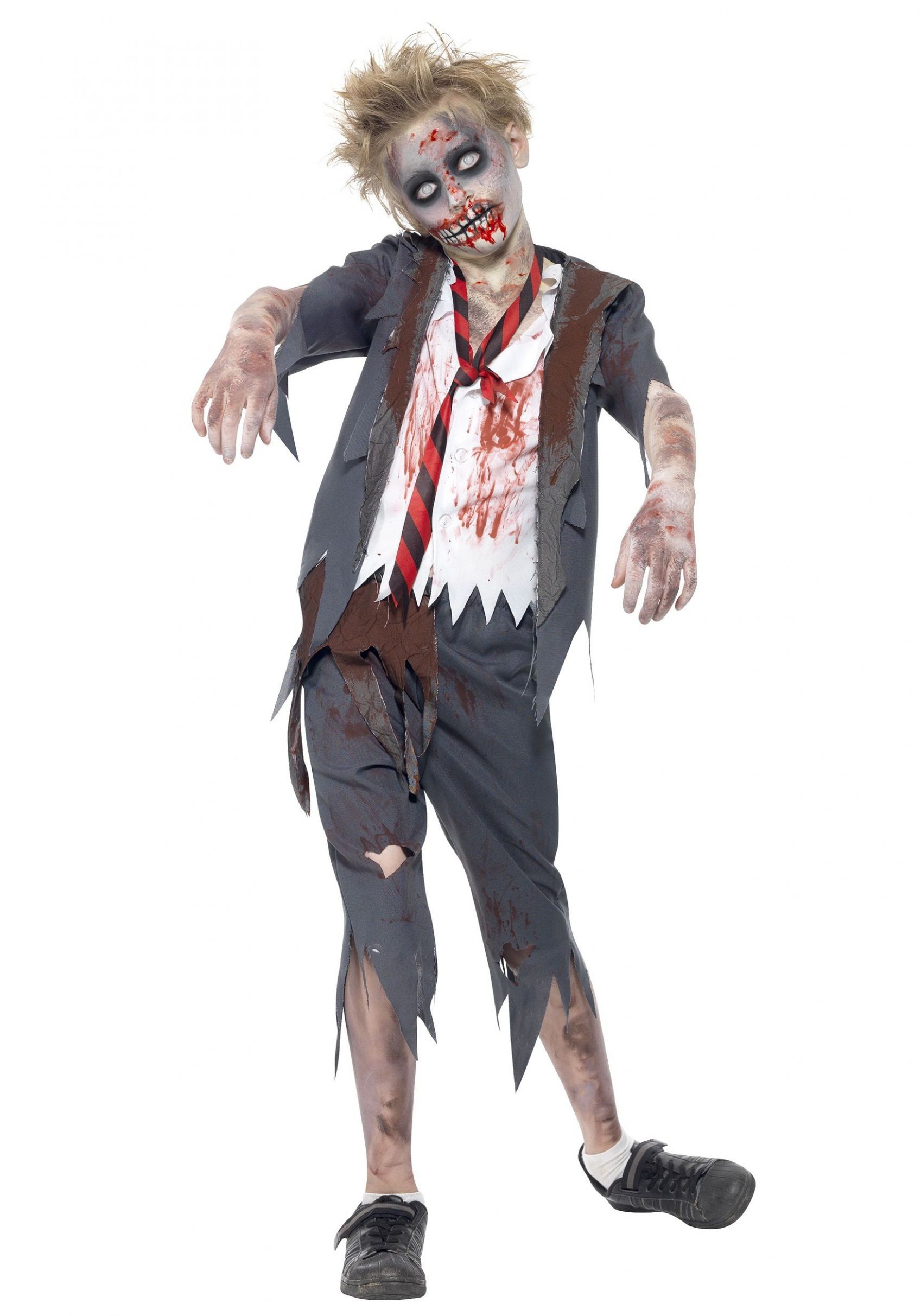 Zombie School Boy Costume | Zombie halloween costumes, Kids zombie ..