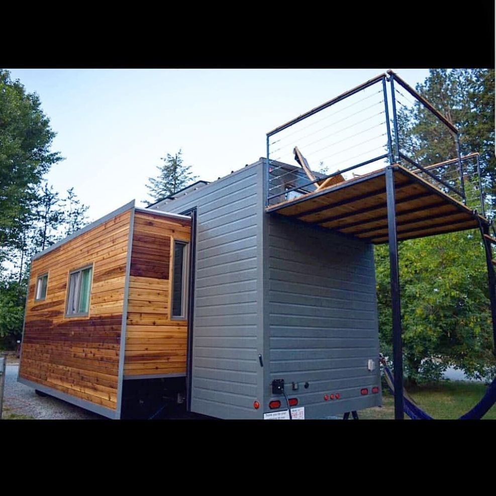 zstinyhomes built this incredible expanding tiny house that's ...