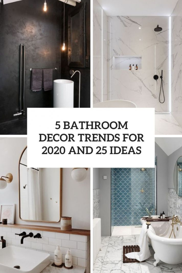 10 Bathroom Décor Trends For 10 And 210 Ideas - Wohnidee by WOONIO - bathroom ideas for 2020