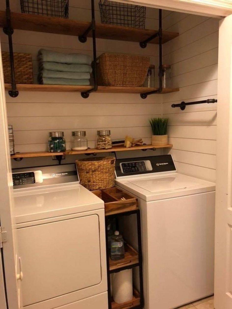10+ Brilliant Small Laundry Room Decorating Ideas To Inspire You ...