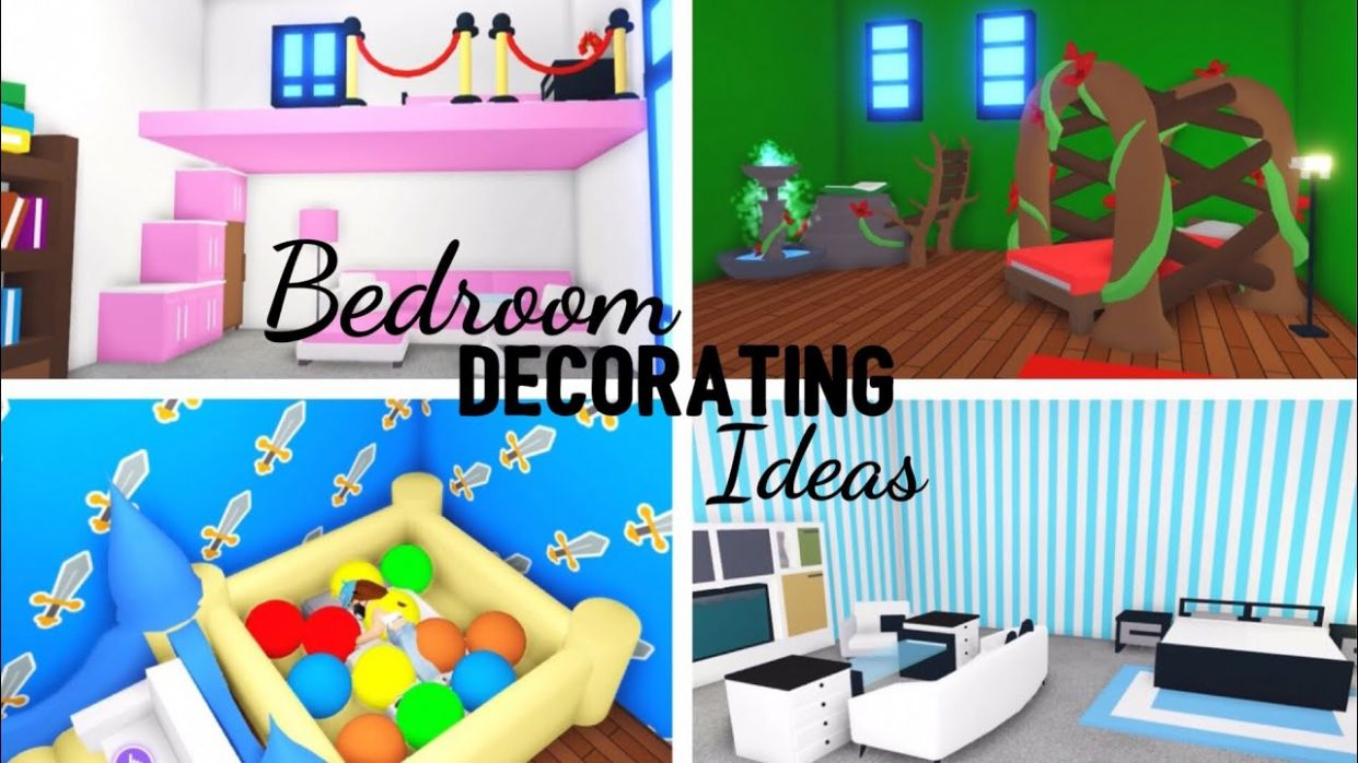 10 Custom BEDROOM Design Ideas & Building Hacks (Roblox Adopt me) | Its  SugarCoffee