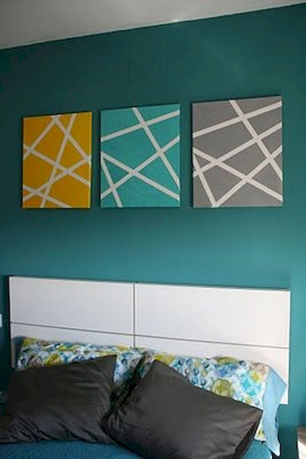 10 Easy DIY Canvas Painting Ideas to Decorate Your Home | Living ...