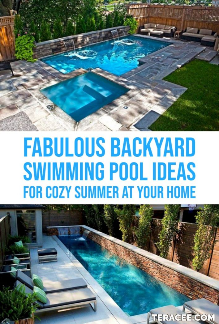 10 Fabulous Backyard Swimming Pool Ideas For Cozy Summer At Your ..