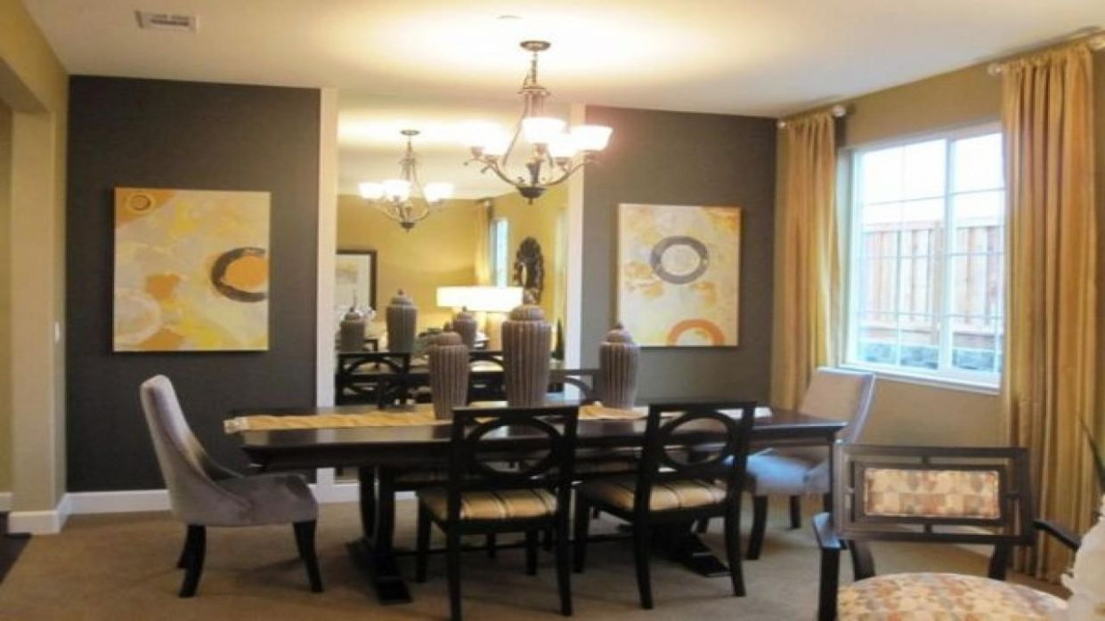 10 Fantastic Gray Yellow Dining Rooms That Will Provide Pleasant ...