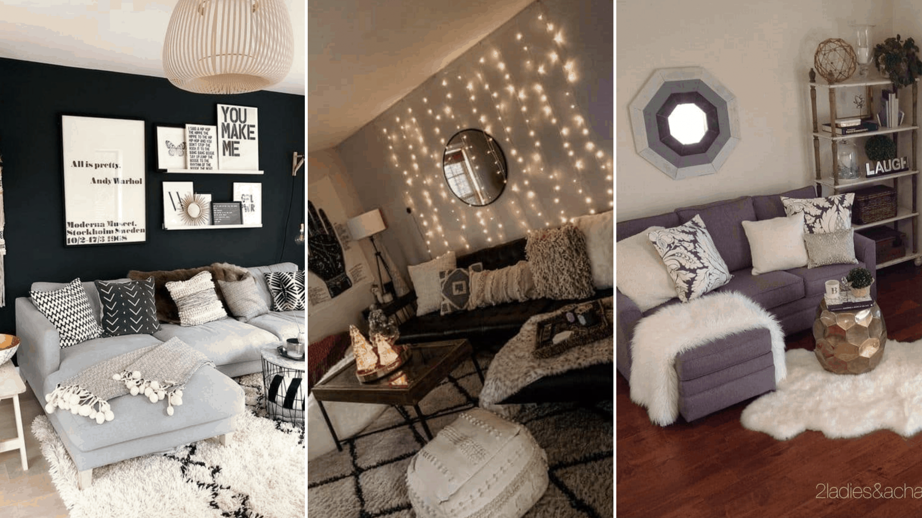 10 Genius College Apartment Decorating Ideas on a Budget - By ...