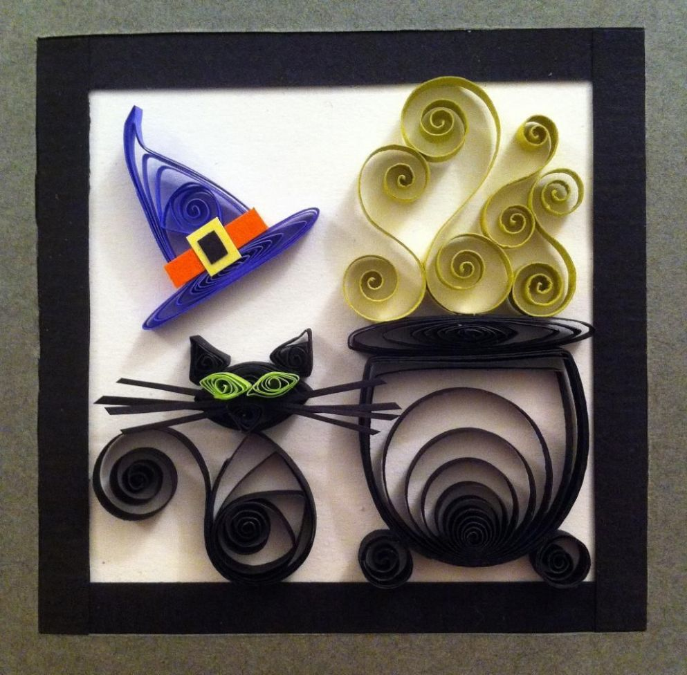 10 Halloween Quilling Tutorials to Put You in the Spooky Spirit ..
