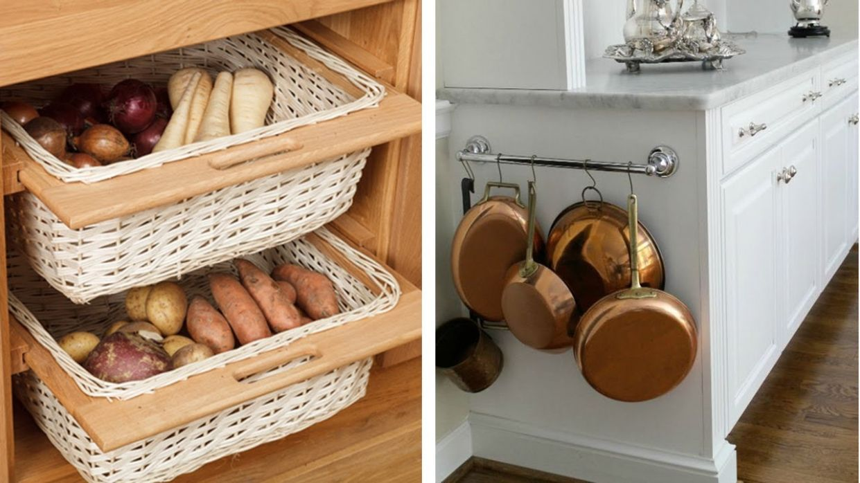 10 Ideas to Re organize Your Small Kitchen