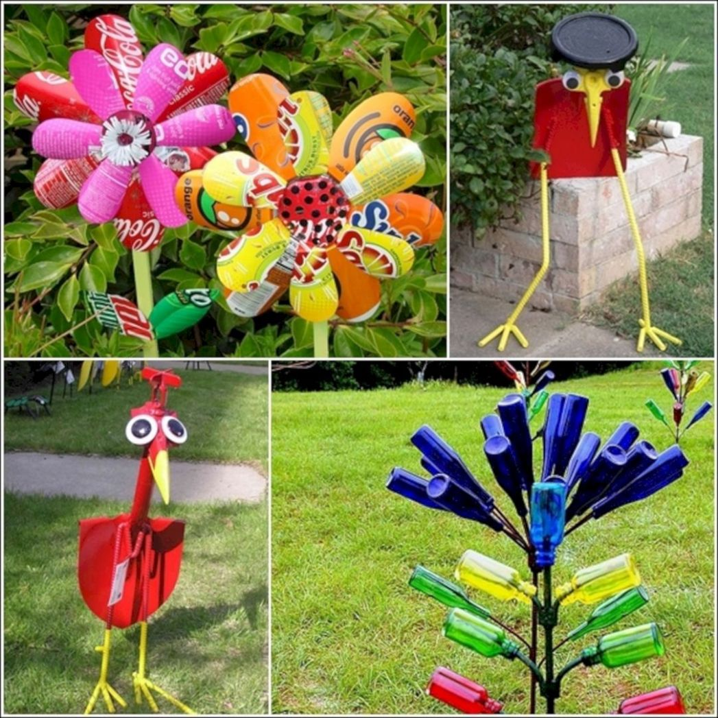 10 Incredible Garden Ideas From Recycled Materials | Recycled ...