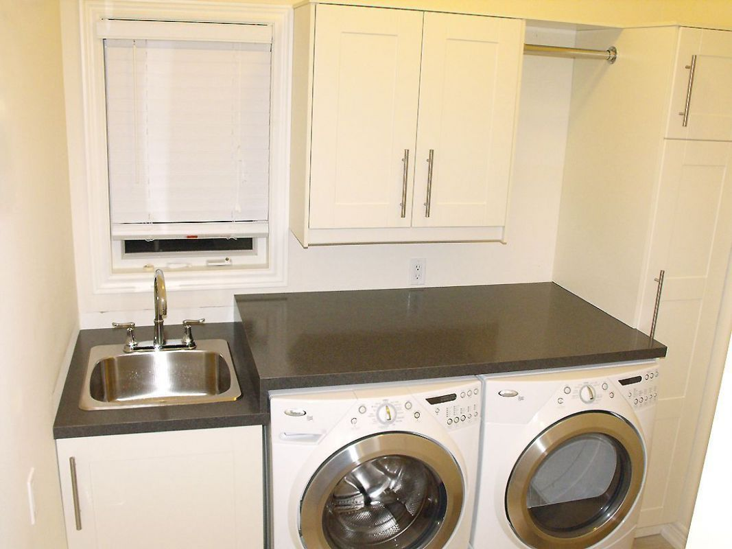 10 Laundry Room Ideas With Sink Washer And Dryer Storage | Laundry ..