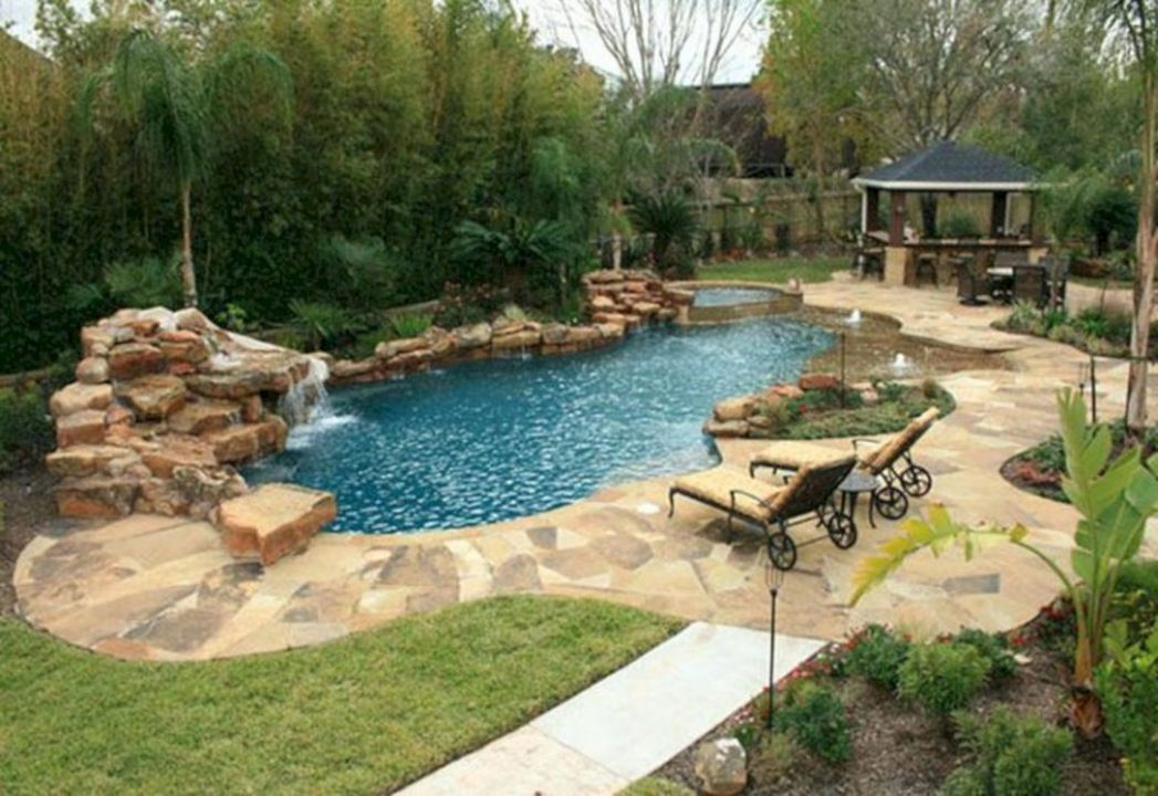 10+ Most Beautiful Natural Swimming Pool Ideas For Your Home Yard ..