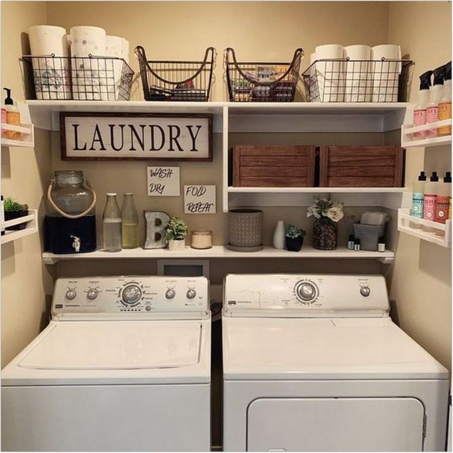 10+ small laundry room makeover ideas for dream room that will ...