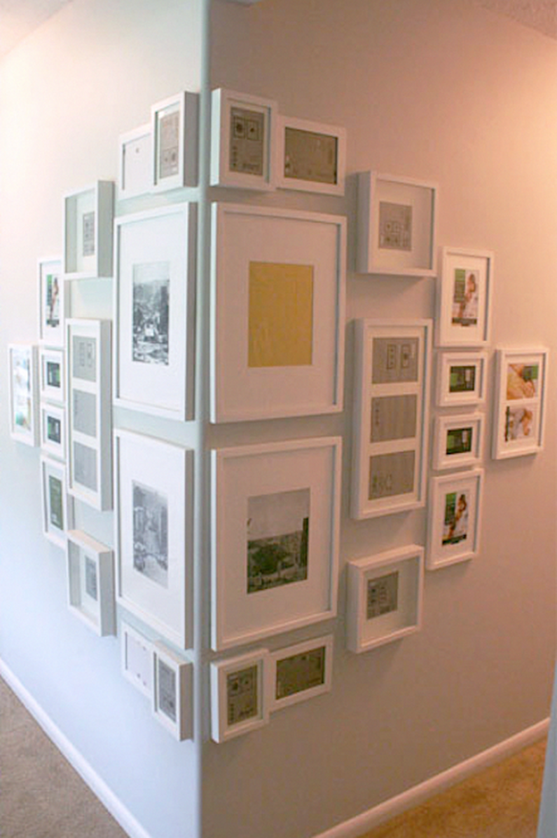 10 Unusual Picture Frame Wall Decorating Ideas On A Budget ..