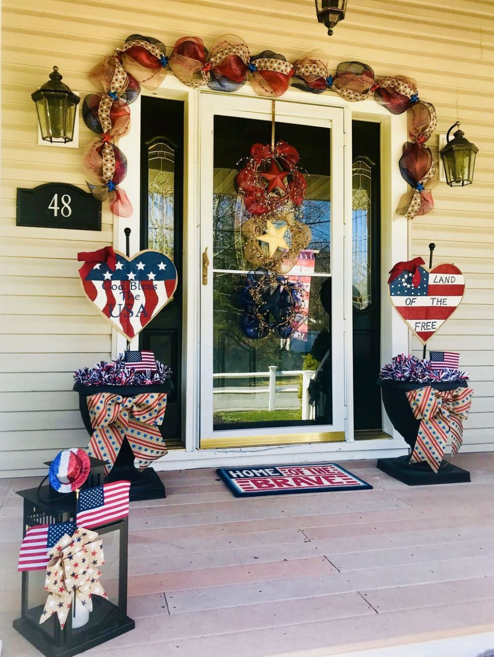 11+ Amazing 11th Of July Decoration Ideas For Front Porch | 11th of ...