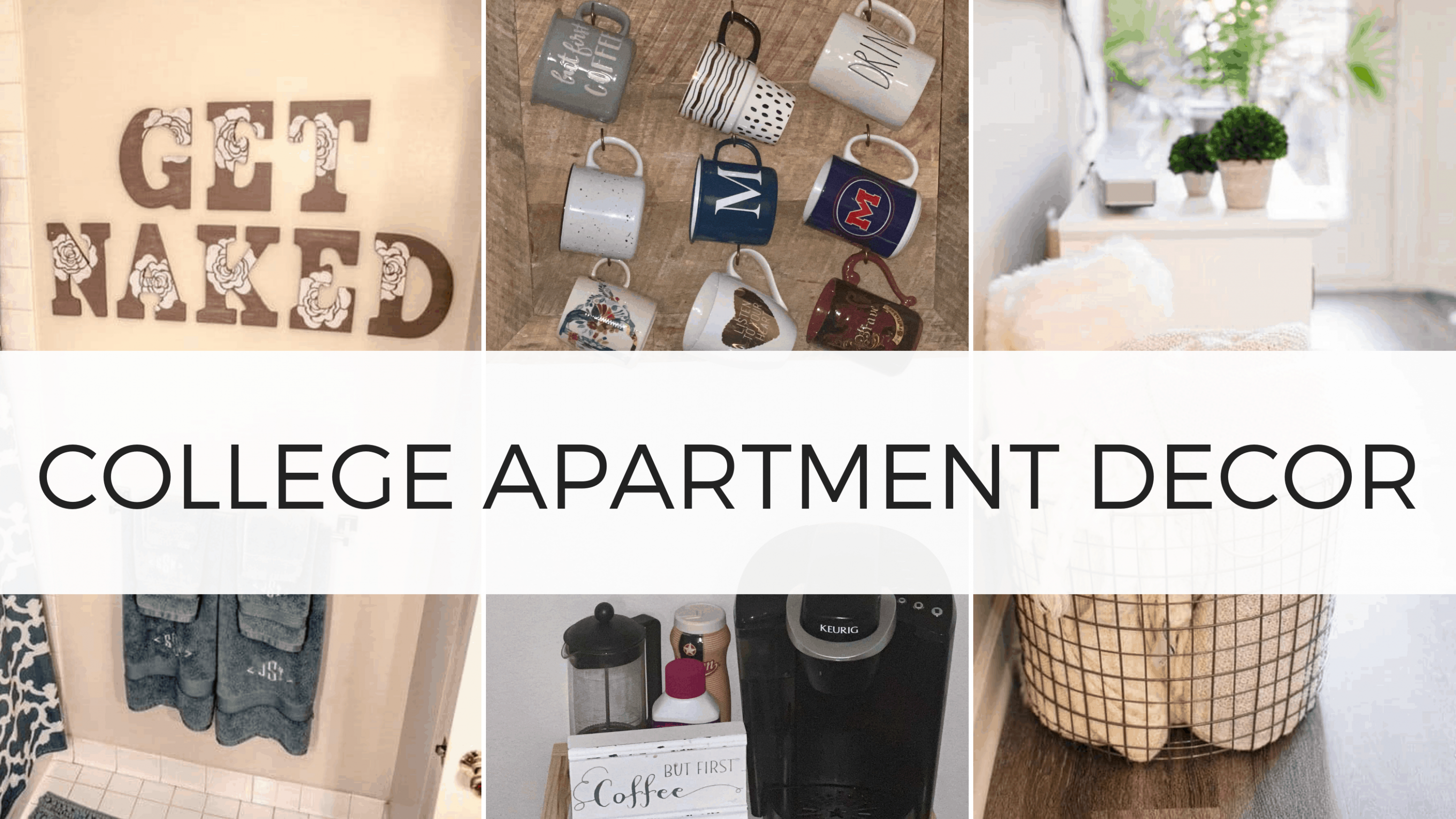 11 Best College Apartment Decor Ideas You Need To Copy - By Sophia Lee - wall decoration ideas college apartment
