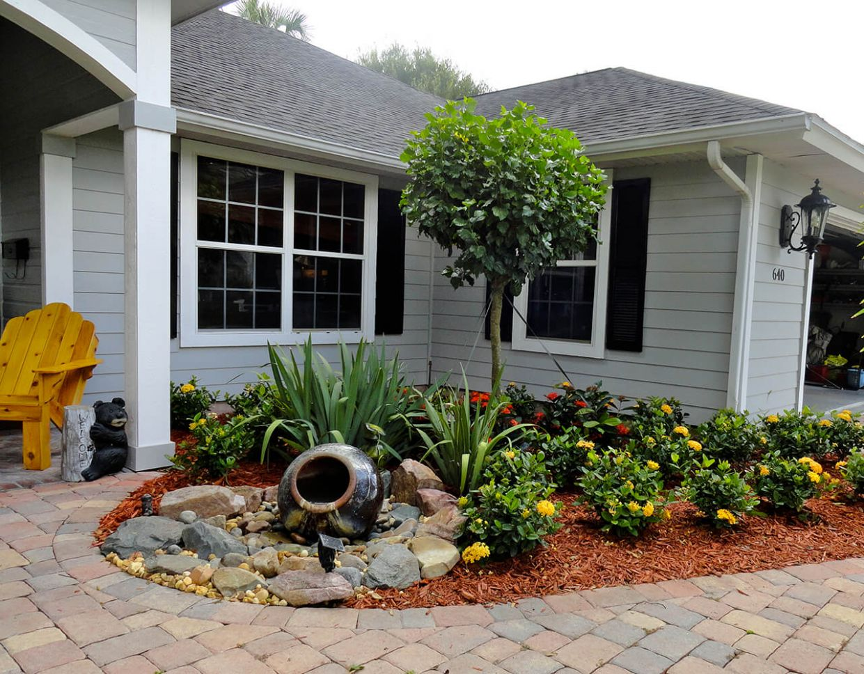 11 Best Front Yard Landscaping Ideas and Garden Designs for 11 - garden ideas around the house