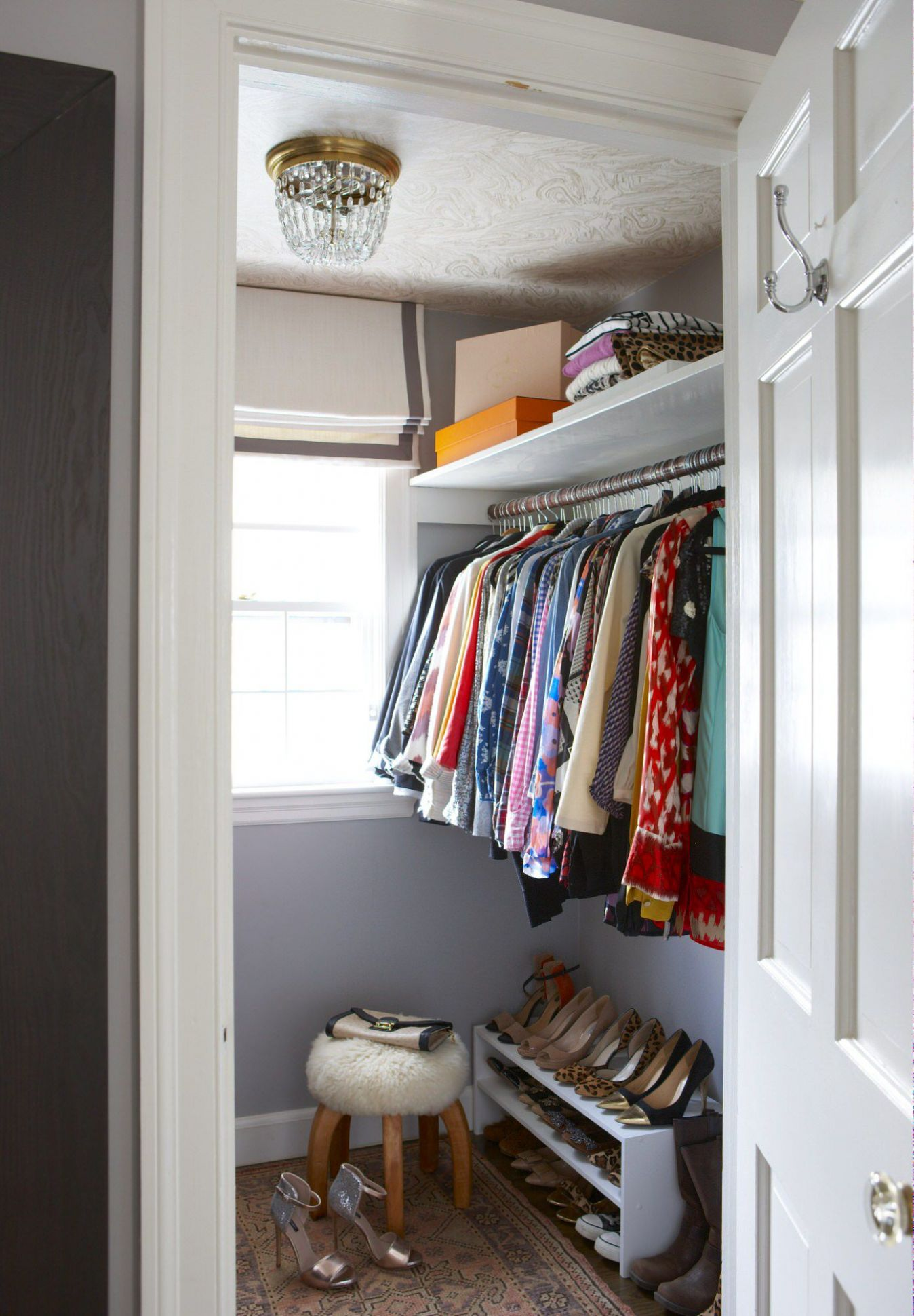 11 Best Small Walk-in Closet Storage Ideas for Bedrooms - closet ideas small spaces