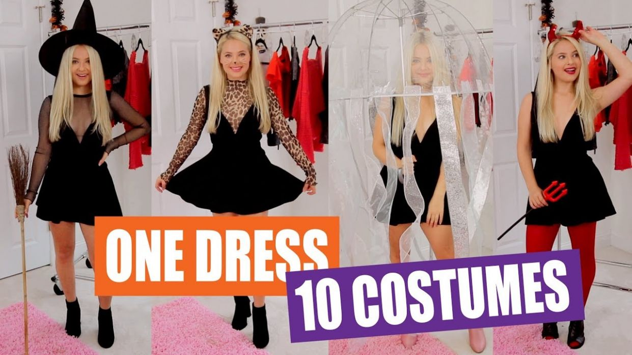 11 Black Dress Halloween Costume Ideas