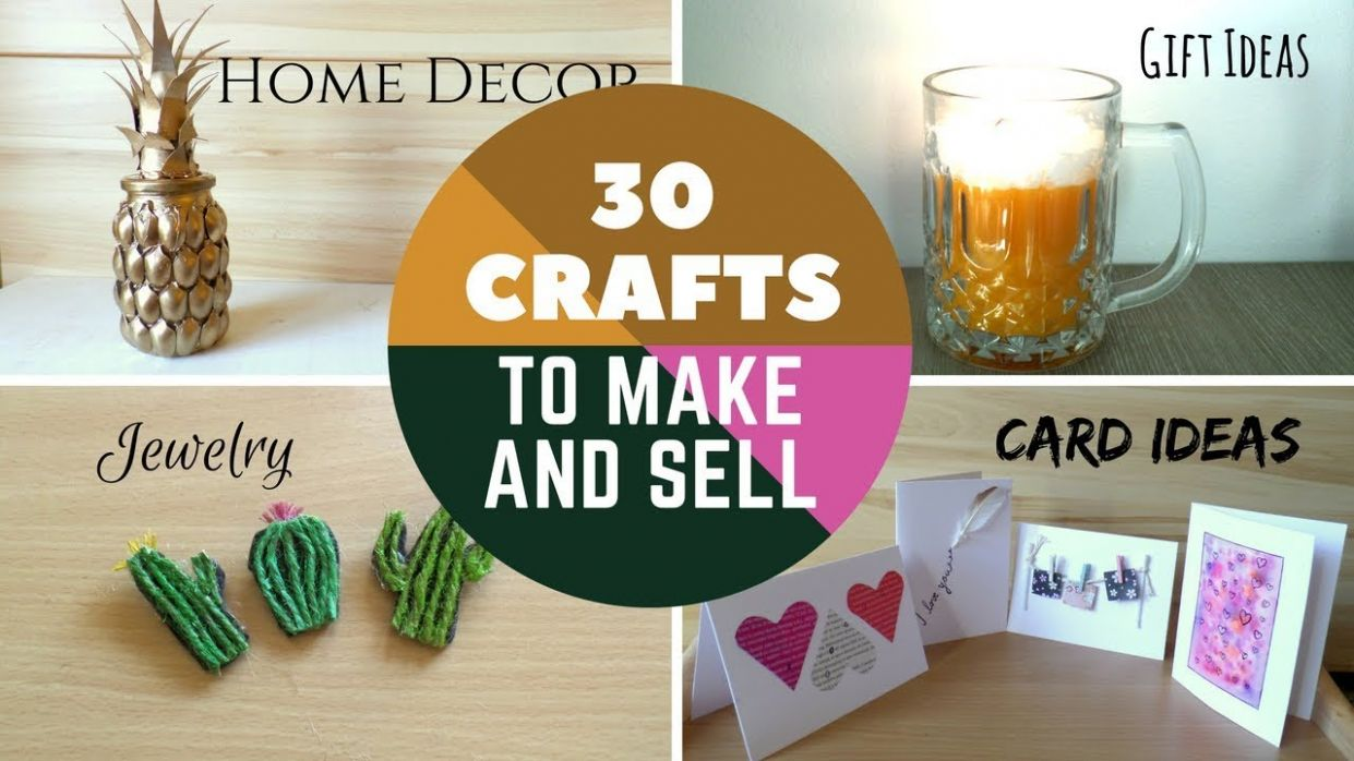 11 Crafts to Make and Sell DIY Easy Make money online on Etsy or at Craft  Fairs | by Fluffy Hedgehog - diy home decor to sell