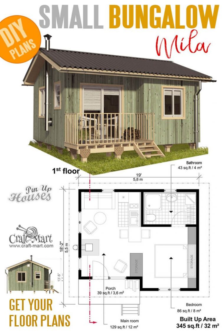 11 Cutest Small and Tiny Home Plans with Cost to Build | Haus ...