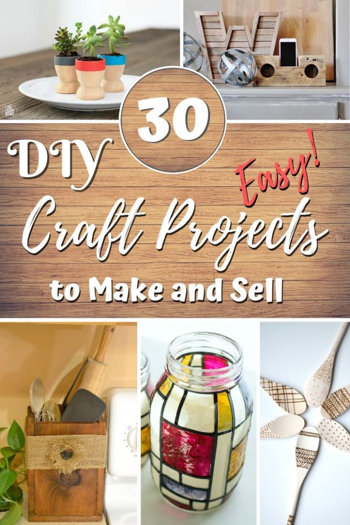 11 Easy DIY Craft Projects That You Can Make and Sell for Profit ..