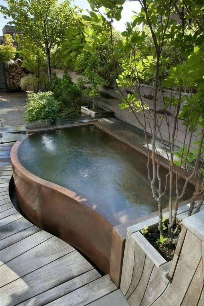11 Gorgeous Backyard Pool Ideas with Inground Landscaping Design ..