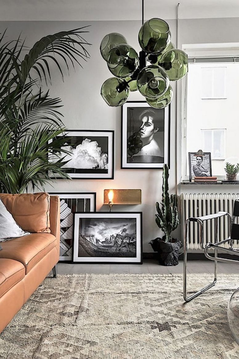 11 HAPPY LIVING ROOM IDEAS WITH PLANTS | Natural home decor ..