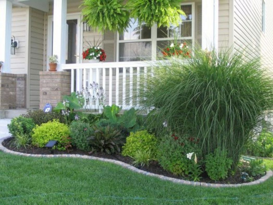 11+ Impressive Front Porch Landscaping Ideas to Increase Your Home ..