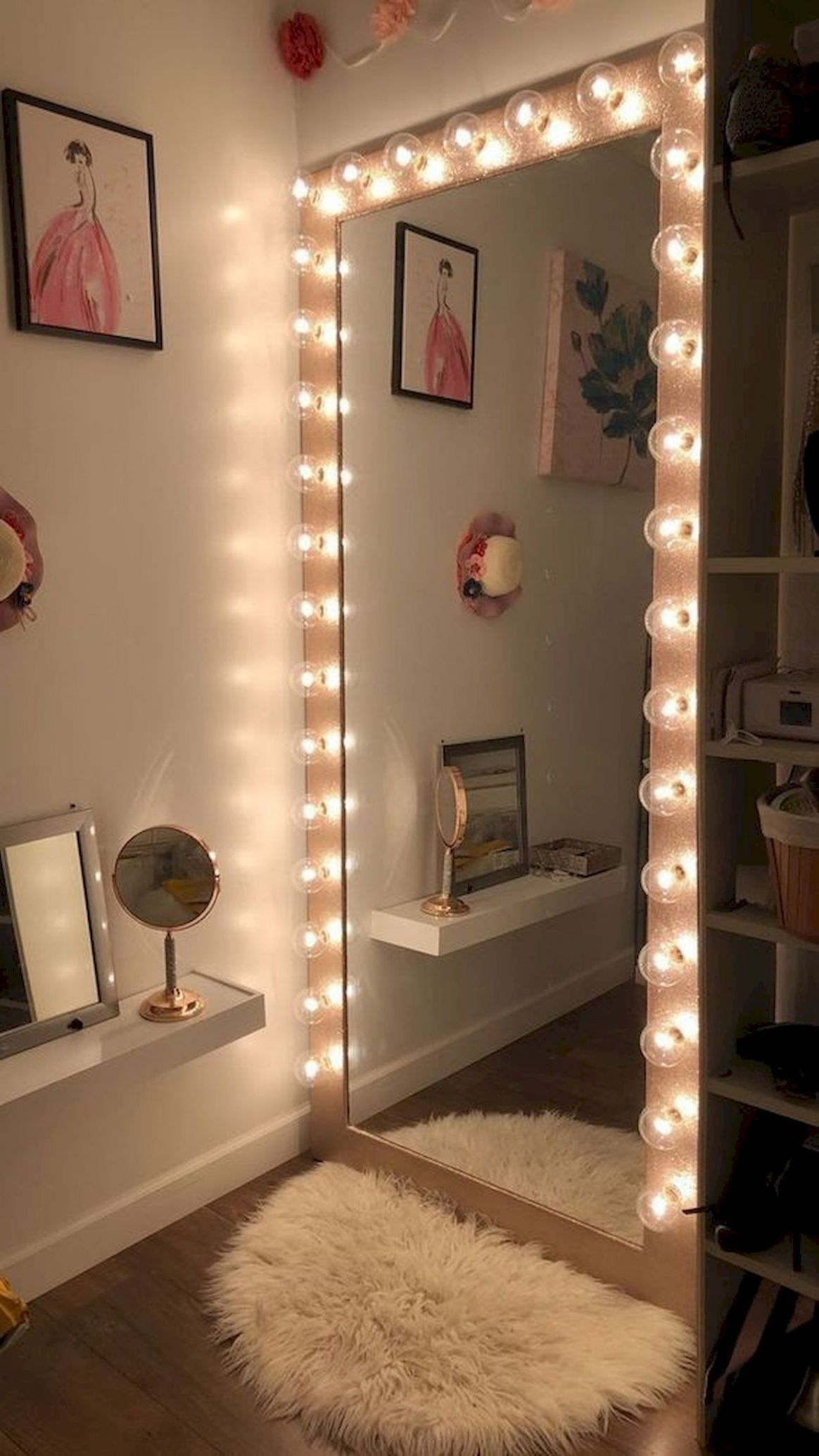 11 Lovely Makeup Rooms Decor Ideas And Remodel   Tumblr zimmer ..