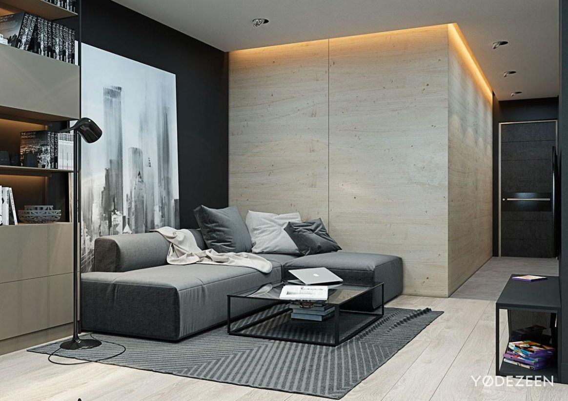 11 Most Beautiful Tiny Apartment Design Plywood Wall That Will ..