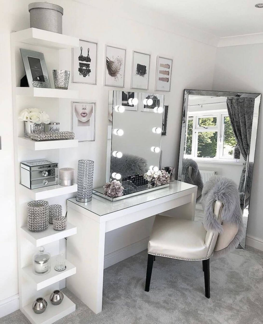 11+ Perfect Makeup Room Ideas for Makeup Lovers | Room decor ...