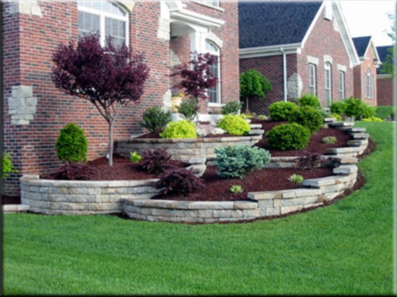 11 Quick Ways to Add Value To Your Home | Landscaping around house ...
